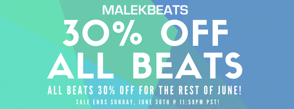 30% OFF BEATS – End of June Sale